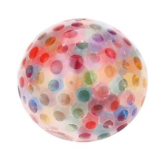 Spongy Rainbow Ball Toy (multicolor)