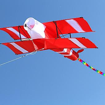 3d Single Line Red Plane  Kite