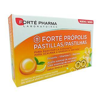 Forté Própolis Pastillas Limón 24 pellets
