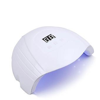 Lámpara de uñas led uv manicure 42pcs lámpara secadora de uñas 4 modo con pantalla lcd táctil