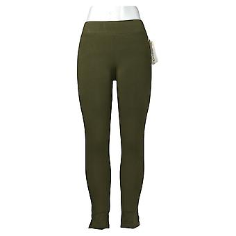 HUE Leggings Utopia Cotton-Blend Army Green 692-482