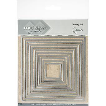 Find It Trading Card Deco Essentials Nesting Cutting Dies - Square
