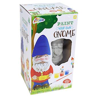 Grafix Paint Your Own Garden Gnome Craft Activity For Children