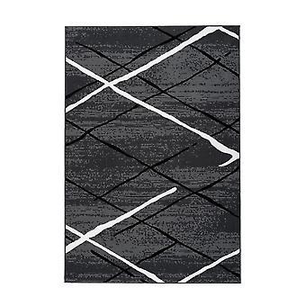 Kinsbra Rug Lara Antracit/Black/White
