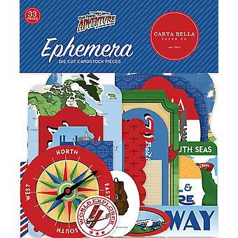 Carta Bella Our Travel Adventure Ephemera
