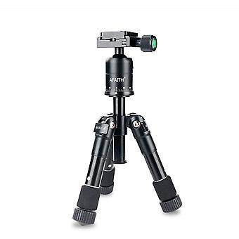 DZK Compact Mini Camera Tripod, Lightweight Portable Travel Tripod with 360 Degree Ball Head and