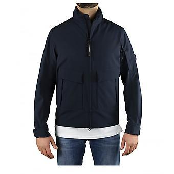 C.p. Company Shell R Navy Blue Jacket