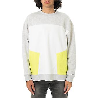 Sweat-shirt homme tommy jeans tjm colorblock crew dm0dm10205.pj4