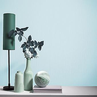 Elle Decoration Plain Textured Wallpaper Light Teal 1017118