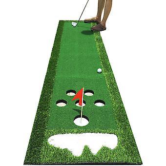 FengChun Golf Putting Matte Tragbare Puttingmatte Trainingsmatte Golfbungsgerte fr Garten Zuhause