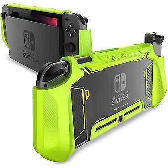 FengChun Hülle für Nintendo Switch Robuste Schutzhülle Hybrid TPU Griff Case Cover für Nintendo