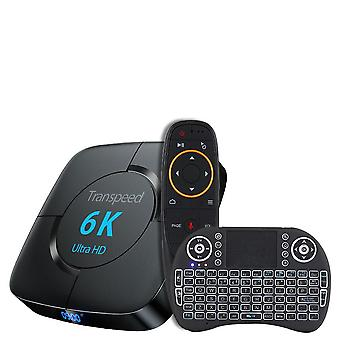 Transpeed 6k Ultra Hd, Wi-fi Bluetooth Tv Box