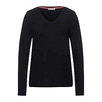 Street One 315817 T-Shirt, Dark Shaded Grey, 36 Woman