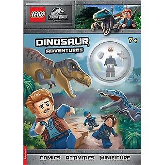 LEGO Jurassic World Dinosaur Adventures Activity Book with Minifigure