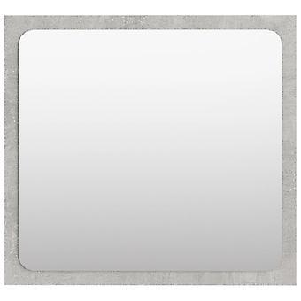 vidaXL badkamerspiegel betongrijs 40x1,5x37 cm spaanplaat