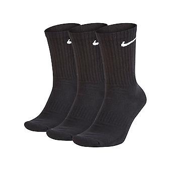 Nike Three Pack Almofada Diária Meias Pretas