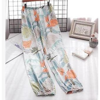 Cotton Trousers, Thin Section Loose Breathable Women Long Pants