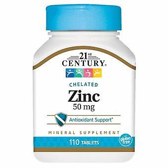 21st Century Zinc, 50mg, 110 Tabs