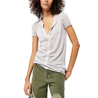 Free People Damen Kia Henley T-Shirt