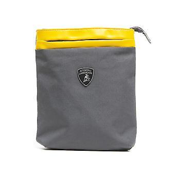Grigio grey messenger bag