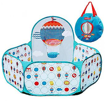 Ball Pit Play Tent Kids Fill 25 Plastic Balls Indoor Outdoor Play Tent