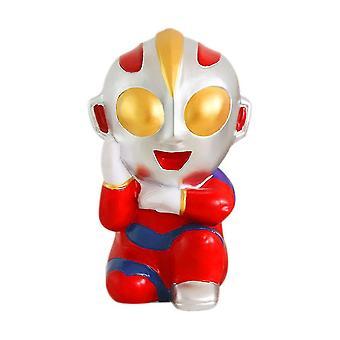 Ultraman Piggy Bank Shock-resistente Penge Box