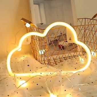 Led Cloud Design Neon Semn Night Light