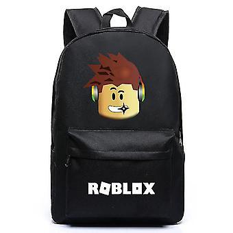 रोबलॉक्स गेम बैकपैक छात्र स्कूल बैग