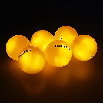 Material de dureza de treinamento noturno para bolas de prática de golfe