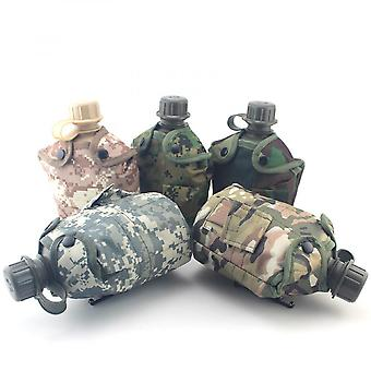 Polymer Sports Kettle Water Bag Drinking Kettle With Lunch Box Camouflage Bag