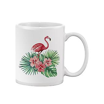 Tropical Flowers Flamingo Muki -SPIdeals Mallit