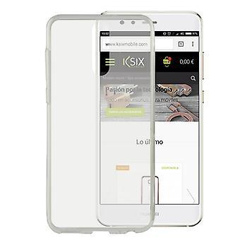 Mobiele hoes Huawei Mate 10 Lite Flex Ultrafina Transparant