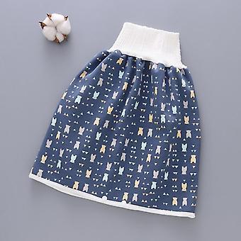 ベビーおむつスカート再利用可能なコットントレーニングパンツ防水ナッピーおむつスカート