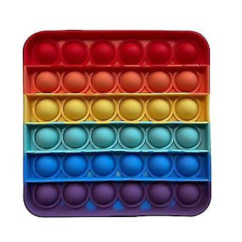 Push pops kupla aistilele lelu erityistarpeita autismi anti stressi (Quadrilateral-mixed)