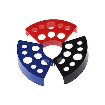 Tattoo Tinte Cup Holder Stand3pcs Multi-Color 8holes Tattoo Pigment Tinte Cup Holder