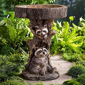 Outdoor Garden Statue Decoration-little Raccoon