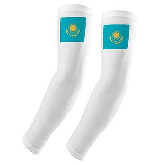Kazakhstan Drapeau Asie Couverture de bras de pays