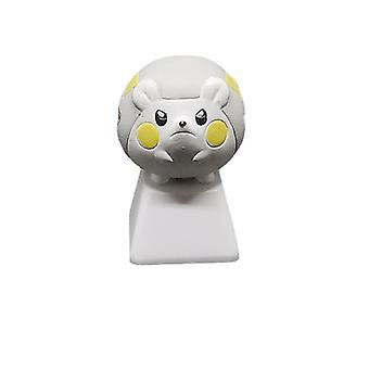 Pikachu Keycap Pet Pokmon Stereo Bagging Mecanice Tastatura Personalitate Translucid Diy