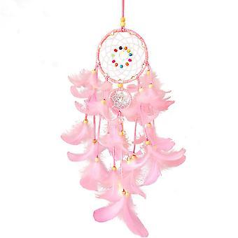 Colgante de plumas Shell Wind Chime Colgante Feng Ling es adecuado para el centro comercial de decoración de la casa de las niñas