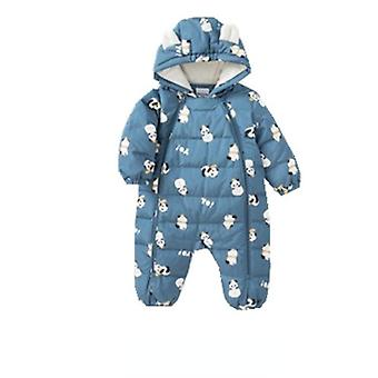 Down Jumpsuit Baby Clothes Baby Winter Clothes Romper Thick Warm Down Jacket One Piece Jumpsuit
