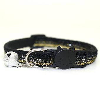 Haustier Katze Hundehalsband mit Mode Verstellbare kätzchen Katze Pailletten Halsband Katzenzubehör Haustierbedarf