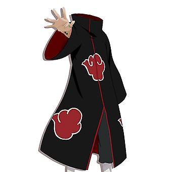 Naruto Akatsuki Cloak Japonais Anime Vêtements Costume Cosply Bidimensionnel