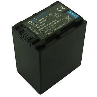 Dot.Foto Sony NP-FV100 batteri - 7.4V / 2900mAh