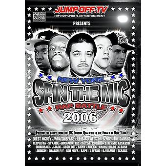 Spin the Mic: New York Rap Battle 2006 [DVD] USA import