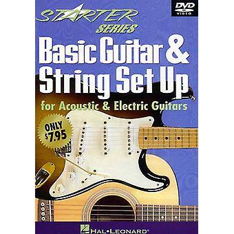 Basic Guitar & String Set Up [DVD] USA import