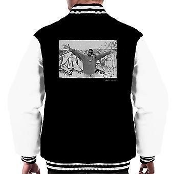 Schoolly D Graffiti Harrow Road 1986 Männer Varsity Jacket