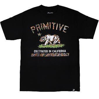 Primitive Apparel Cultivated Blaze T-Shirt Black