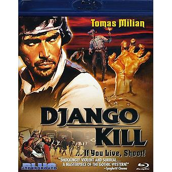 Django Kill If You Live Shoot! [BLU-RAY] USA import