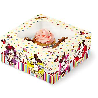 Gift box voor 4 Cupcakes Disney Mickey Mouse taart Design