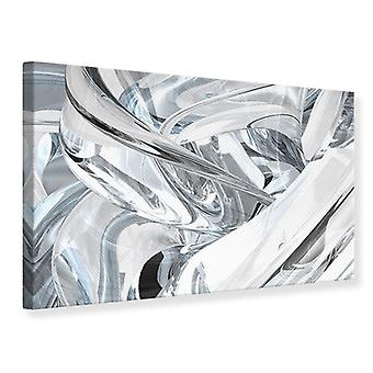 Canvas tulostaa abstrakti lasi Webs